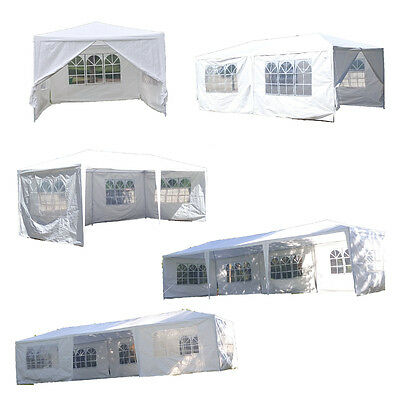 3m x 3m 6m 9m Outdoor PE Garden Gazebo Marquee Canopy Wedding Party Tent New