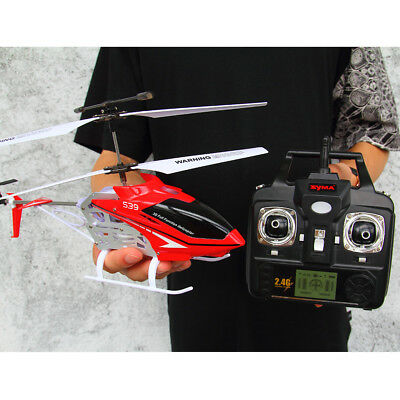 Original Syma S39 Volitation Rc Radio/remote Control Helicopter Large Outdoor