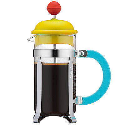 Bodum - 70 Years French Coffee Press 3 Cup Yellow & Red