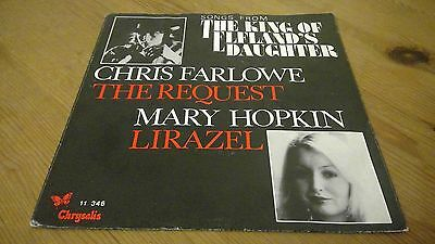 """Songs From The King Of Elfland's Daughter - The Request - 7"""" Vinyl Record Single"""