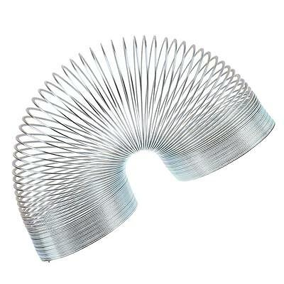 Silver Mini Metal Coil Gift Party Filler Magic Bouncing Spring Vending Toy