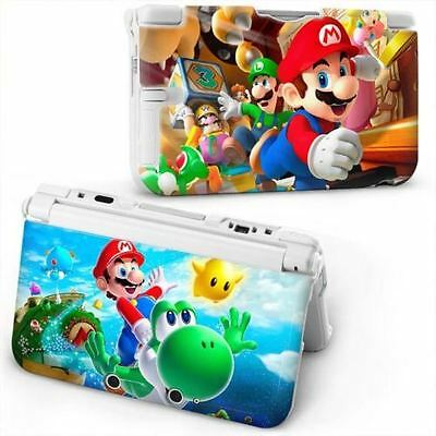 Mario Riding Hard Plastic Case Protective Cover For Old NINTENDO 3DS XL