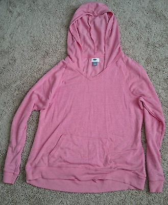Old Navy Maternity Hooded sweatshirt Size L Pink