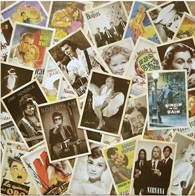 32 pcs/lot Vintage Movie stars poster Drawing post card set/postcards/Christmas/