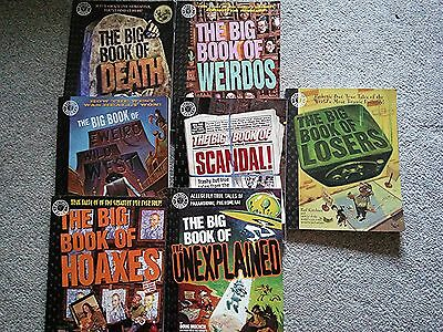 Factoid Books - Lot of 7 - The Big Book of Scandal + 6 More