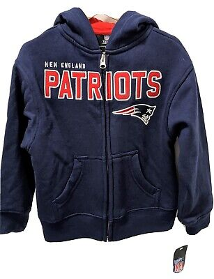 Boys NWT Patriots Sweater Kids Small Size 4