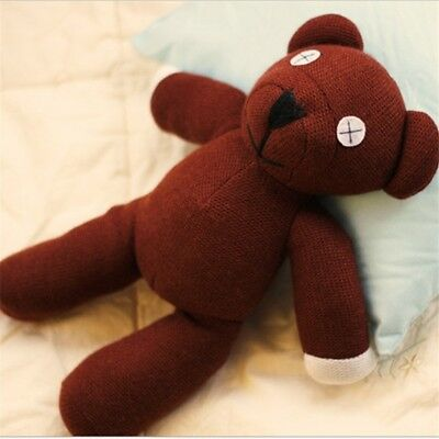 9'' 23cm mr bean bear Teddy doll Stuffed plush toys Brown kids Christmas birthda