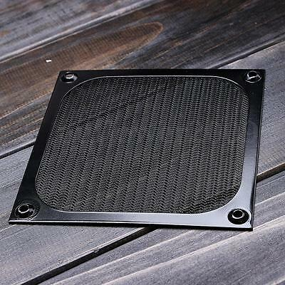120mm Pc Computer Mesh Aluminium Fan Filter Net Black