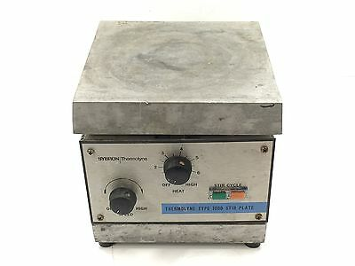 Sybron Thermolyne Type 1000 Stir Plate < Stirs and Heats>