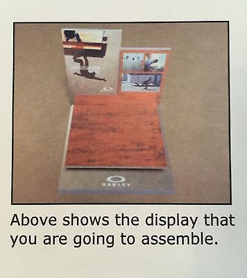 Oakley In-Case Eric Koston Glorifier Display Stand Collector's Item OOP-15-0020