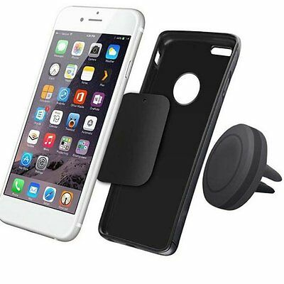 Car Magnetic Air Vent Mount Holder Stand for Mobile Cell Phone iPhone GPS I6#