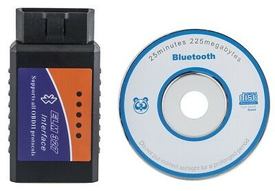 OBD 2/OBD Bluetooth Car Scan Diagnostic Interface Wireless Fault Detection Tools