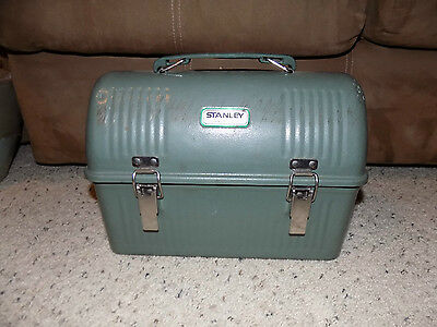 Nice Vintage Green Metal Stanley 10 Qt. Lunch Box Pail