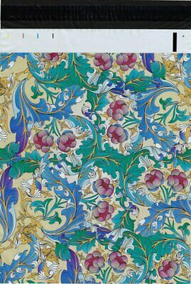 1-1000 12x15.5 ( Floral Paisley ) Boutique Designer Poly Mailers Fast Shipping