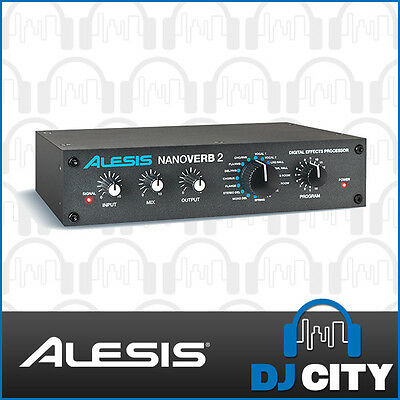 NANO2 Alesis NanoVerb 2 Digital Effects Processor - DJ City Australia