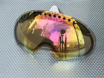 zero goggle replacement lens for oakley a frame pink mirror zrl afrm