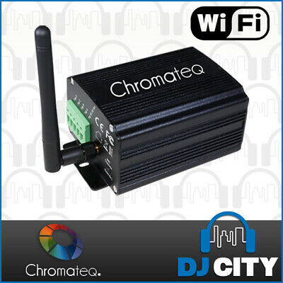 Chromateq LPSA-WiFi Wireless Stand Alone DMX Interface with Software