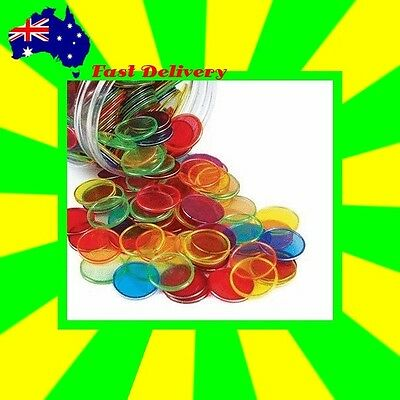 Educational Resource Magnetic Counting Chips Jar (100 piece)