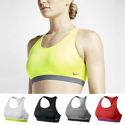9a98cc5c7b Nike Pro Core Fierce Compression Medium Support Sports Bra Workout Training  Gym
