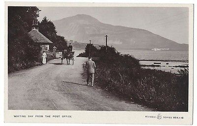 ARRAN Whiting Bay from the Post Office, RP Postcard Unused, Reliable Series