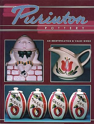 Purinton Pottery Dinnerware Types Pattern Names Etc. / Illustrated Book + Values