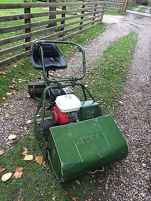 Atco B24 Cylinder Mower C/W Auto steer Seat Good Condition