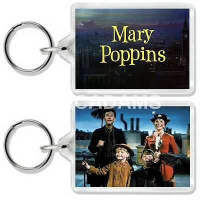 Mary Poppins Julie Andrews Classic Dvd Movie Inspired Keyring