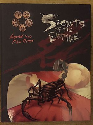AEG L5R LEGEND OF THE FIVE RINGS : SECRETS OF THE EMPIRE Book