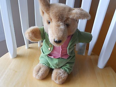 Vintage Eden Plush - Beatrix Potter's Foxy Whiskered Gentleman with original tag