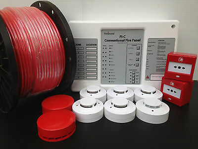 Supply & Install - 2 Zone Fire Alarm System - BS5839 Kit 1