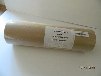 Gold masking paper 18inch (180m)