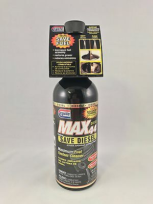 Cyclo Max 44 Maximum Total Diesel Fuel System Cleaner C44D 16oz Bottle FREE SHIP