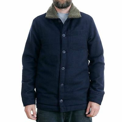 Altamont Apparel The Levine Jacket Navy Sherpa Coat New BNWT Free Delivery