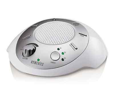 NEW  HOMEDICS Portable Sound Machine 6 Relaxation Sounds FREE SHIPPING