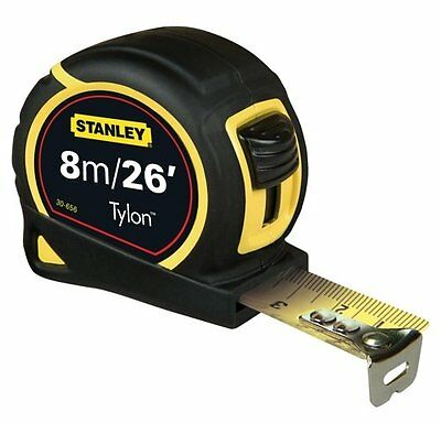 Pocket Tape 8M/26FT 25MM for accurate measurements-Carded 0-30-656 by Stanley
