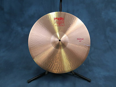 Paiste 2002 20'' Medium Crash Cymbal - Excellent Used Condition