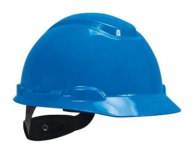 3M™ H-703R Hard Hat, One Size Fits Most, Blue, 4-point pinlock suspension system