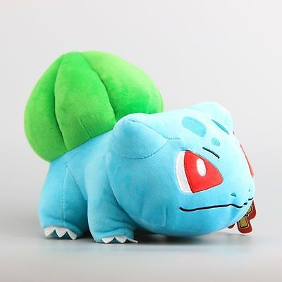 12'' BIG Pokemon Bulbasaur Plush Toy Soft Stuffed Animal Doll Cuddly Teddy Gift