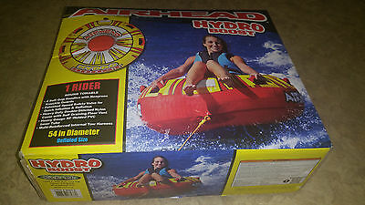 "AirHead Hydro Boost - 1 Rider 54"" Towable Water Tube - BRAND NEW"