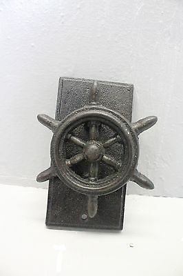 cast iron steering wheel ship  door knob