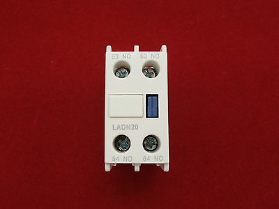 1PC Auxiliary Contact Block Fits LADN20 2NO Use for LC1D NEW TYPE CONTACTOR