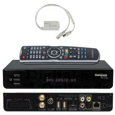 Head Medialink Black Panther 1xCX 1xCI PLUS COMBO DVB S2/C2/T2 HD inkl. Wifi
