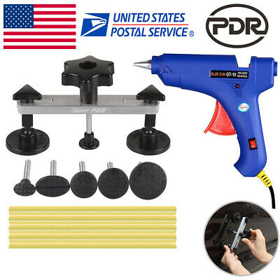 Paintless Hail Repair PDR Tools Dent Puller Bridge Glue Gun Auto Body Removal