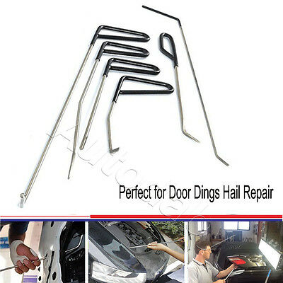 PDR tools rods dent puller, stainless steel paintless repair kit hail removal(C)
