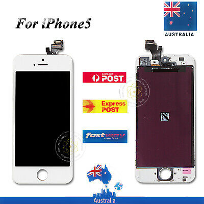 LCD Digitizer Glass Touch Screen Display For Genunie iPhone 5 Replacement White