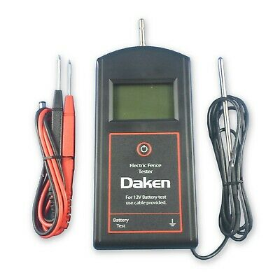 Digital Electric Fence and Energiser Tester DAKEN DVM Plus Volt Meter
