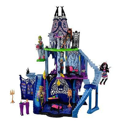 Monster High Freaky Fusions Catacombs Playset Doll House 120cm High
