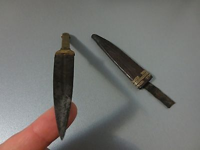 ANTIQUE Early 19th CENTURY OTTOMAN EMPIRE SMALL DAGGER KNIFE - VERY RARE