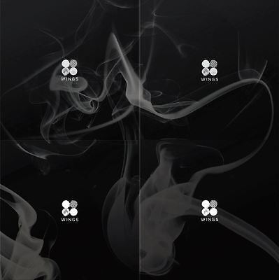 [BTS] Vol. 2 [Wings] All Version SET CD+Photobook+Photocard+Poster NEW Sealed