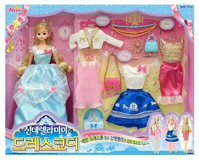 korean doll Mimi  2016 NEW  Cinderella Mimi Dress set